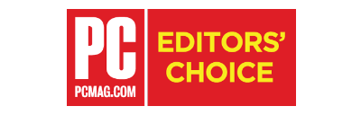 PCMag Editor's Choice - 4.5 Stars